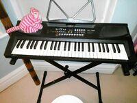 keyboard (56) & stand