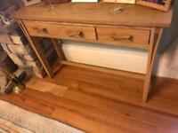 Willow oak hall table