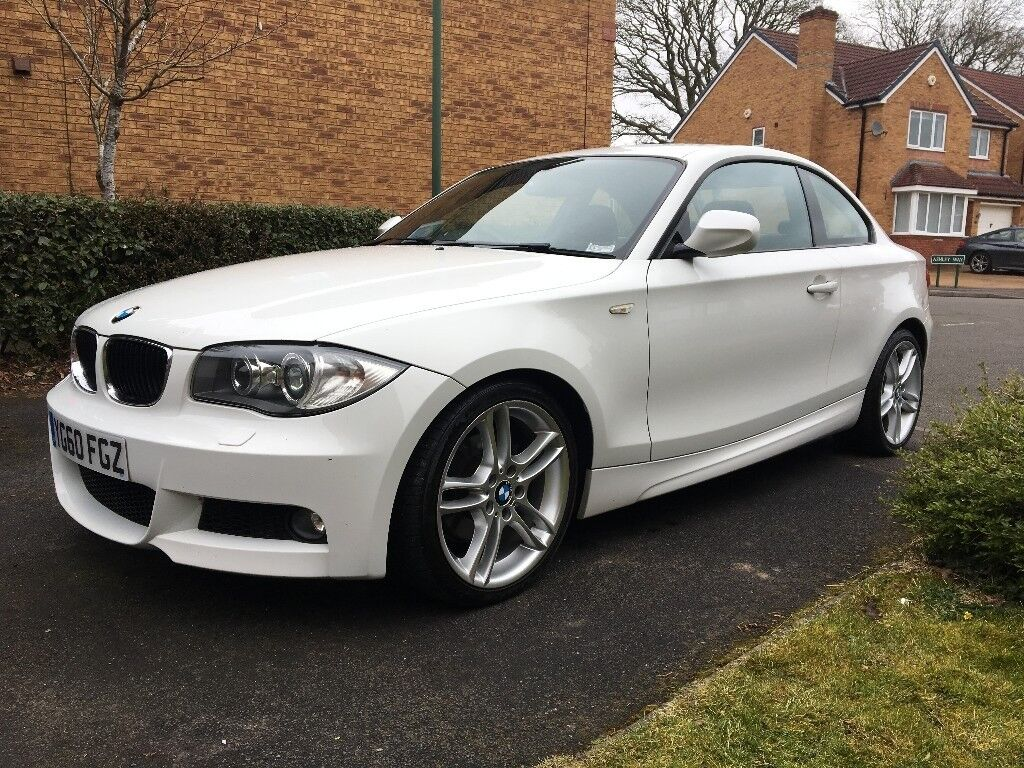 White 2010 Bmw E82 120d M Sport Coupe Good Condition For Age And Mileage In Balsall Common
