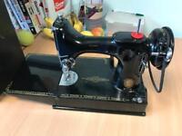 Vintage Singer Sewing Machine 221 K