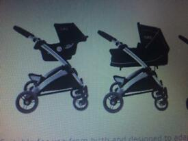 Tippitoes 3 in 1 travel system