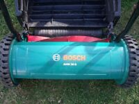 LAWN MOWER...BOSCH PUSH ALONG...GREAT CONDITION