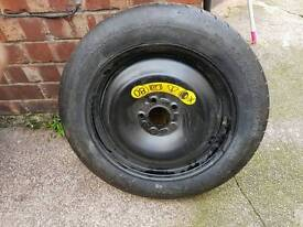 New Bmw space saver spare wheel 5x120