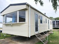 Rent to own £299 per month , 2 bedroom static caravan on the Isle of Sheppey