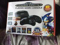 Sega mega drive forsale only used 2 times