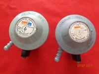 Calor gas Butane Reulators (three)