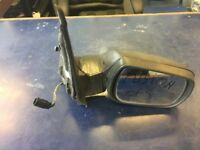 2004 FORD FUSION DRIVER RIGHT OFF SIDE COMPLETE ELECTRIC ***BROKEN*** MIRROR