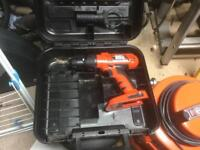 Black and Decker 18v Firestorm cordless drill
