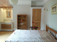 Seven Dials. Furnished double room. All bills included.