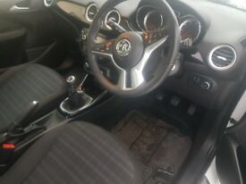 White Vauxhall Adam, 40,000 miles, 12 months MOT, new breaks and tyres, reduced for quick sale.