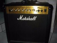 Marshall Amplification MG15CDR Combo - 15 Watt Electric Guitar Amplifier