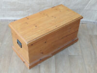 Welsh Pine Trunk / Blanket Chest (Delivery)