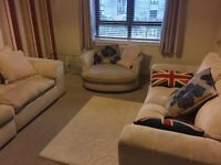 One bedroom furnished flat - available for immediate entry