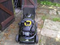 As new self propelled lawnmower