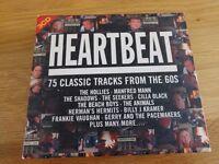 Heartbeat - 75 Classic Tracks from the Sixties boxset (3CDs)