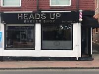 Female or male barber and receptionist urgently needed minimum 3 years experience