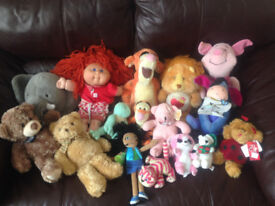 50 SOFT TOYS in good condition.