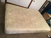 Double mattress used but still very comortable