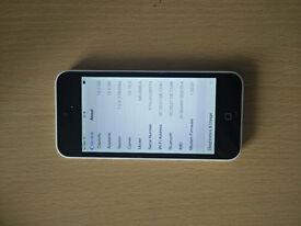 iphone 5c 16GB white EE