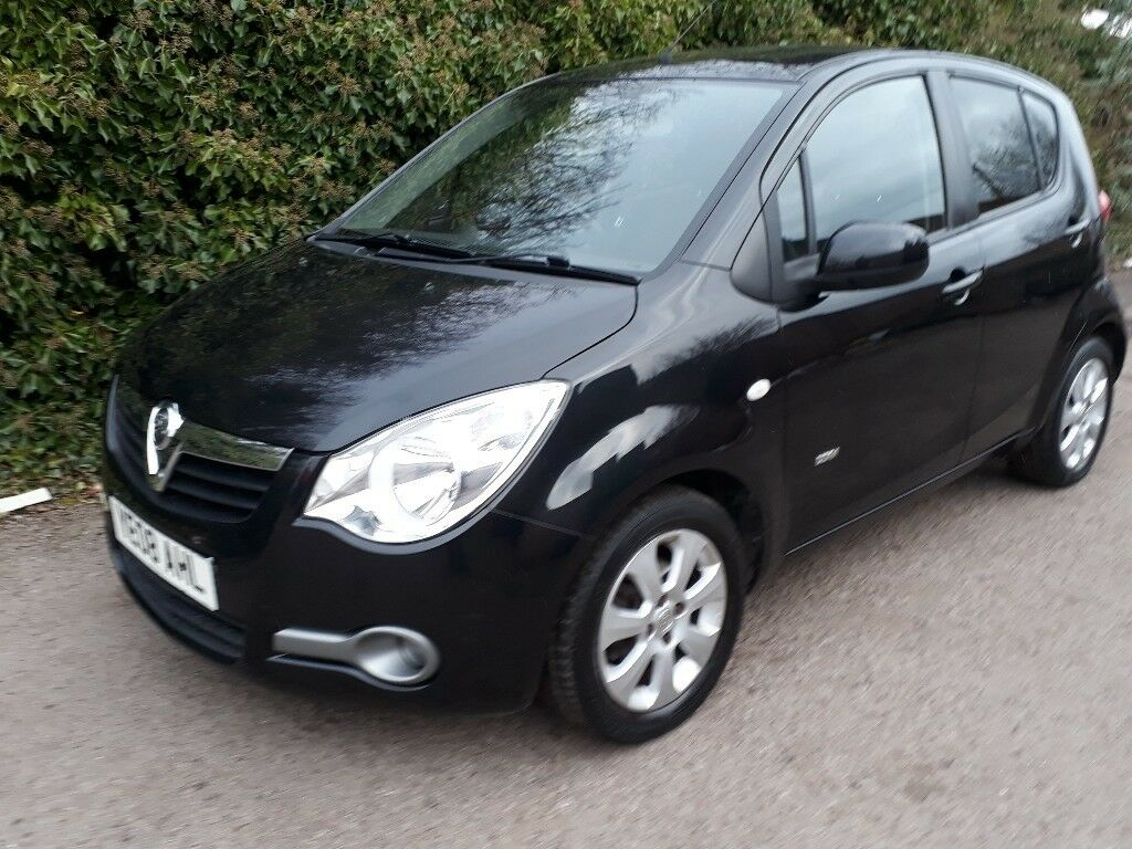 2008 vauxhall agila 1 2 i design 5dr low mileage cheap. Black Bedroom Furniture Sets. Home Design Ideas