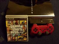 80GB PS3 with GTA V