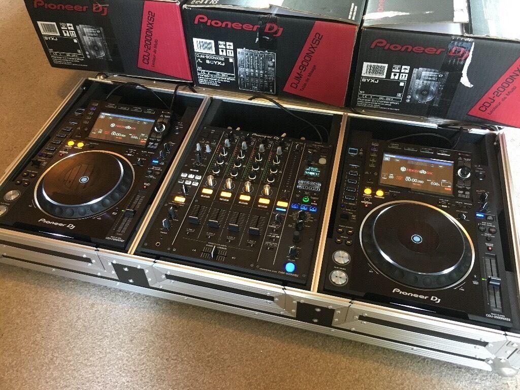 pioneer nexus 2000. pioneer cdj 2000 nxs2 nexus 2 professional dj decks + djm 900 nxs mixer best