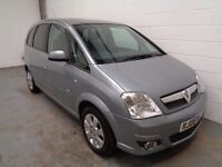 VAUXHALL MERIVA , 2006 REG , LOW MILEAGE + FULL HISTORY , YEARS MOT , FINANCE AVAILABLE , WARRANTY