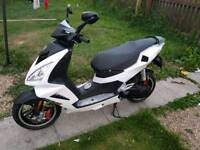 Peugeot speedfight 3 lc. 50 cc with 70 kit read add