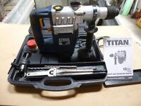 Titan SDS Plus Rotary Hammer Drill