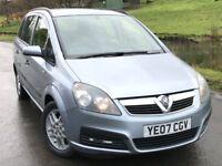 2007 Vauxhall zafira 1.6 life