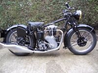 Velocette 1937 MSS Restoration almost completed.