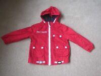 TU Boys red summer jacket 12-18 months