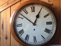 "Victorian School Clock 12"" Dial"