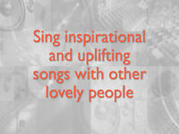 Choir at IGC. Sing inspirational and uplifting songs with other lovely people in Burnt oak