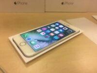 Silver Apple iPhone 6 16GB Factory Unlocked Mobile Phone + Warranty