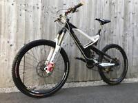 Carbon Fibre Scott Ransom 10 full Suspension Enduro/Downhill Bike, LIKE NEW, HIGH SPEC, DEORE