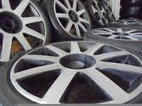 18ich rs4 TT ALLOYS wheels audi vw caddy t4 t3 golf a3 seat beetle leon multifit bora passat mk4 mk5