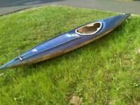 Vintage kayak for sale needs some tlc