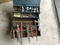 Socket Set - A/F in metal tool box (+ other items in Garage Clearance)