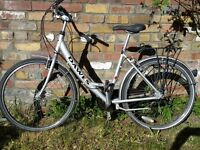 Silver DAWES Ladies Bicycle 'Red Feather' Ready for Immediate Use