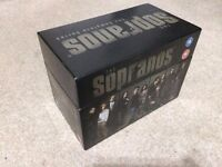 The Sopranos Complete DVD Boxset Series 1-6 With Episode Guide.