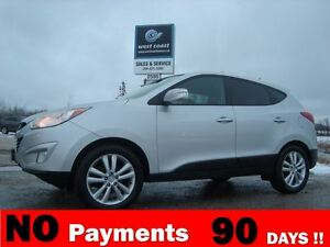 2010 Hyundai Tucson Limited AWD *Loaded w/Panoramic Roof*