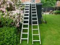 two extensions ladders for sale