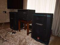 Peavey XRD 680s Plus mixer and 2 Peavey 2XT cabs fantastic sound mint condition