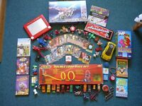 Large Bundle of Boys Toys - Bakugan/Meccano/Etch a Sketch/Cars/Jenga Tetris/Geomag/etc.