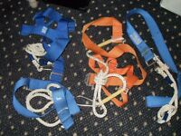 Rock climbing hardnesses? / safety belts