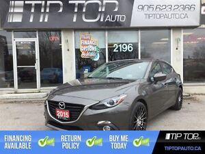 2015 Mazda MAZDA3 GT ** Navigation, Bluetooth, Backup Camera **