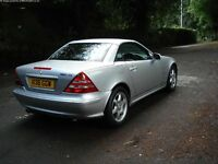 SLK Convertible Stunning car, excellent condition for year. Full leather interior.