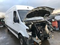 Mercedes sprinter van spare parts available engine gearbox ecu set prop shaft axel tow bar