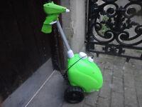 Garden water/fertiliser/weed trolley